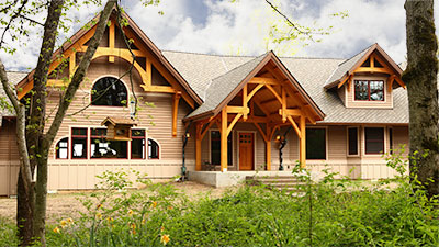 Lodge Custom Home